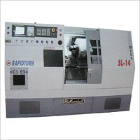 Slant Bed Cnc Turn Mill Centers