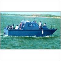 Fibreglass Patrol Boat