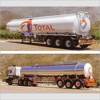 Road Tanker For Carrying Oil