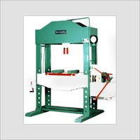 Hand Cum Power Operated Hydraulic Press