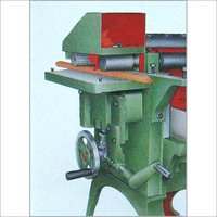Wood Working Machine with Slide Moulding Attachment
