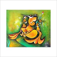 Ganesha Oil Paintings