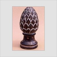 WOODEN CARVED CONES