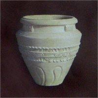 Handcrafted Stone Garden Pots
