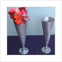 Fancy Aluminium Flower Vase