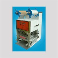 Cup Tray Sealer Machine
