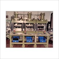 Plc Based Hydraulic Press With Transfer Line