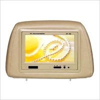 7 Inches Car Headrest Monitor With Pillow