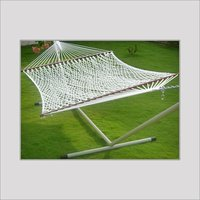 Cotton Rope Hammock With Stand