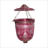 Decorative Glass Beljar Hanging Light