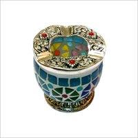 Designer Handmade Glass Ashtray
