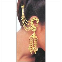 Designer Gold Earings