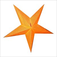 Handmade Five Leaf Paper Star