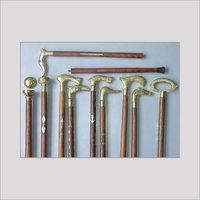 Walking Sticks With Brass Handle