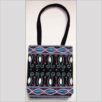 Beaded Cotton Bags
