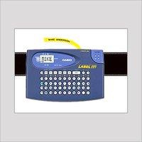 LCD DISPLAY LABEL PRINTER