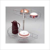 D Tray Type Kitchen Carousel