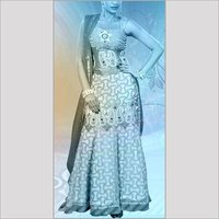 Sleeveless Designer Ladies Lehanga