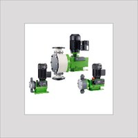 Diaphragm dosing pumps with external motor