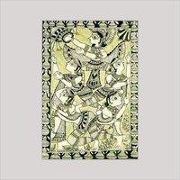 Dancing Girls Madhubani Paintings