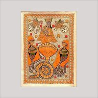 Madhubani Dance Paintings