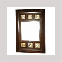 Dhokra Wall Mirror