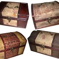 Antique Wooden Jewellery Boxes