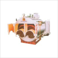 Double Furnace Solid Fuel Fired Boiler