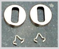 Crown Collar For Automotive Halogen Bulbs
