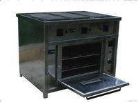 Electric Range Burner With Oven
