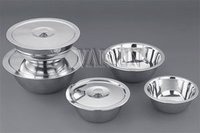 Stainless Steel U Bowl with Cover