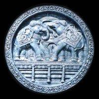 Papier Machie Elephant Wheel