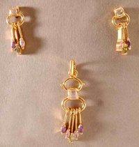 Gold pendant set in rajkot gujarat dealers traders designer gold pendant set in rajkot aloadofball Images