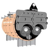 Twin Furnace Steam Boilers