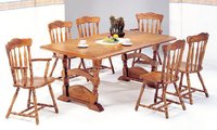 Casual Oak Dining Table