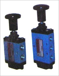 Manually Operated Push Button Valve