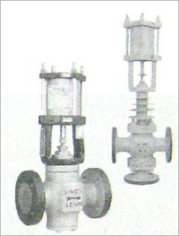 Pneumatic Cylinder Operated Control Valves