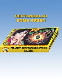 Exclusive Atom Bomb Rectangular Green