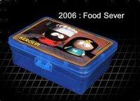 PLASTIC FOOD LUNCH BOX