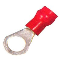 Copper Terminal Ends (Insulated Tinned Ring Type)