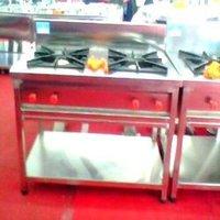 Punjabi Cooking Platform with Double Burner