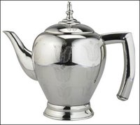 Silver Finish Kettle