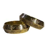 Traditional Brass Bangles