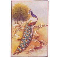 Animals Paintings Of Peacock