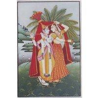 Radha Krishna Mural Paintings