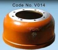 Heavy Duty Rear Brake Drum ('E' 85 Model)