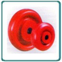 Red Polymer Wheels