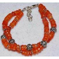 Carnelian Gemstone Bracelets