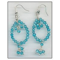 CZ Beads Earrings