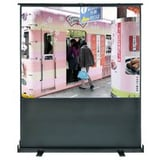 Slide Air-Pressure Floor Pull Up Portable Projection Screen